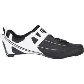 PEARL iZUMi Tri Fly Elite V6 Chaussures Homme, white/black